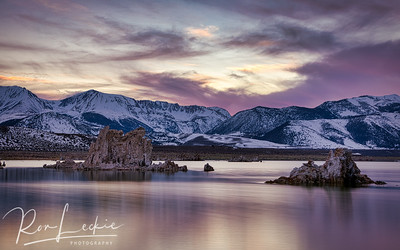 Sunset at...  Mono Lake, Lee Vining Eastern Sierras, California
