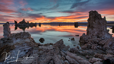 Sunrise at...  Mono Lake, Lee Vining Eastern Sierras, California