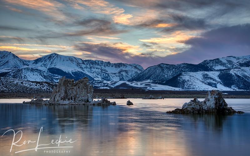 Sunset at...  Mono Lake, Lee Vining Eastern Sierras, California