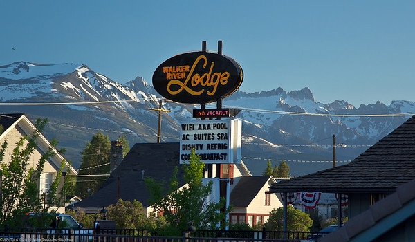Bridgeport - a view from the lodge