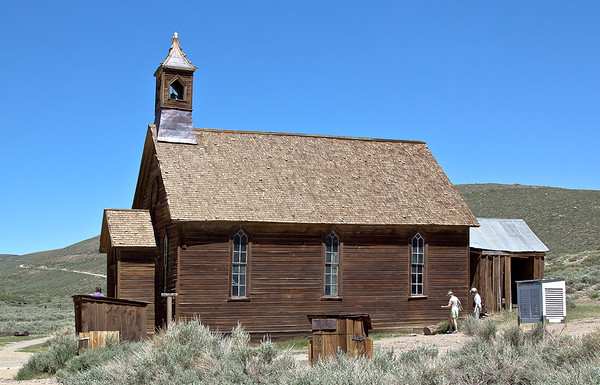 Bodie - the church