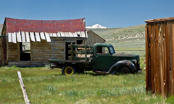 Bodie - an old truck