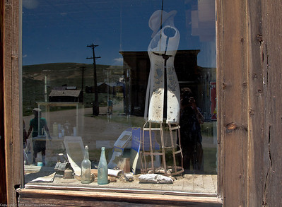 Bodie - a store window