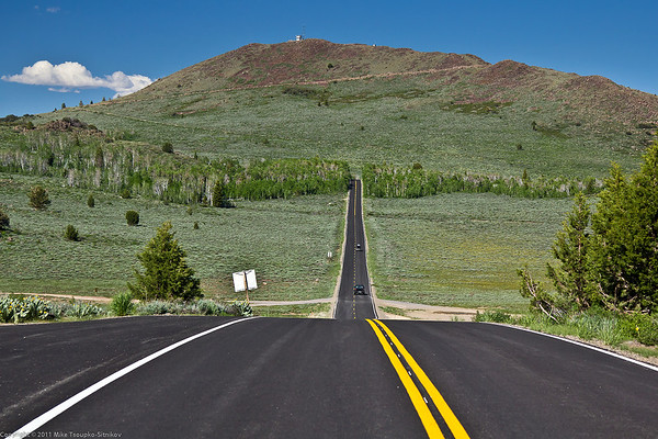 Highway 89 east of Monitor Pass