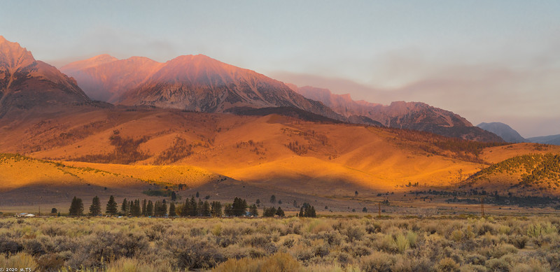 Eastern Sierra at Dawn
