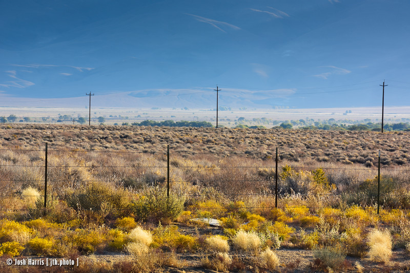 Highway 395, October 2019.