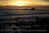 Sunset fm Elephant Seal Rookery, San Simeon CA (4)