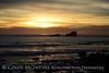 Sunset fm Elephant Seal Rookery, San Simeon CA (3)