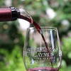 Red Wine Pour, Caymus Winery, Suisun Valley, California