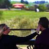 Romantic wine tasting. Fiorella Winery, Suisun Valley California