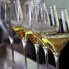 Chandon Winery, California, champagne flutes
