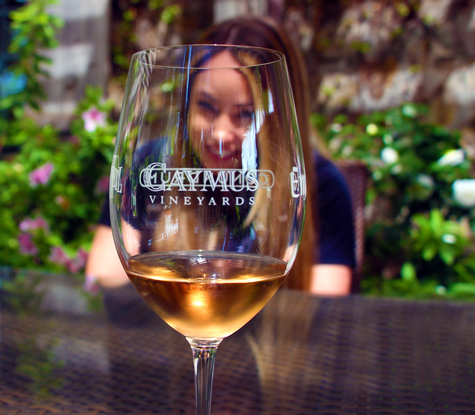 Wine tasting at the Caymus Vineyards, Suisun Valley