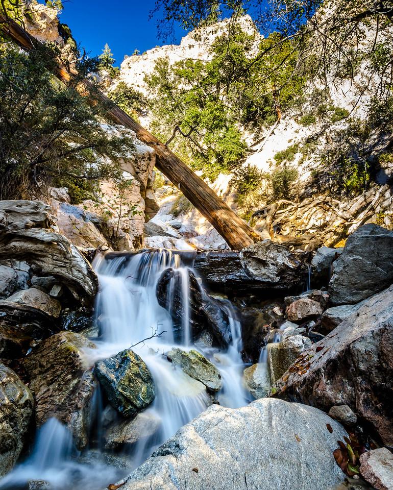 Big Falls Stream - Forest Falls, CA, USA