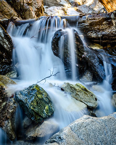 Big Falls Stream - Forest Falls, CA, USA