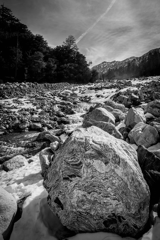 River Rock - Forest Falls, CA, USA