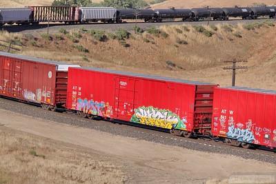Box Car ATW84033 at Tunnel 2, Mojave Sub  07/06/10