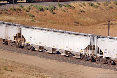 Hopper Car ALHX1111 at Tunnel 2, Mojave Sub  07/06/10