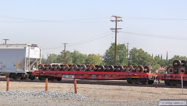AOK6481 arrives into Bakersfield  08/06/10