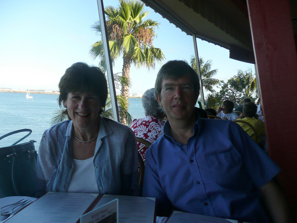 2008, Clive and Caroline in SD