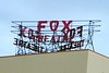 Before the re-lighting of the Fox sign in 2015
