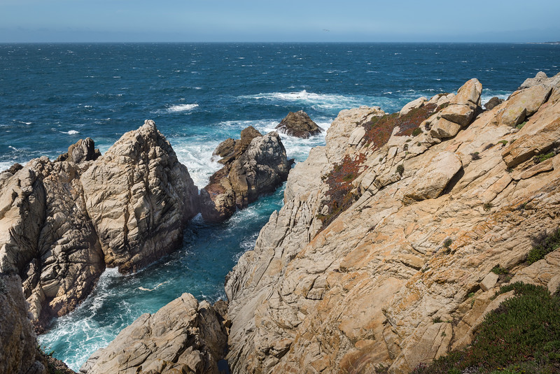 Cliffs, Rocks, and Ocean