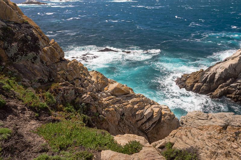 Yellow Clifs and Blue Ocean