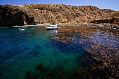 Channel Islands National Park, Santa Cruz Island - Scorpion Anchorage.