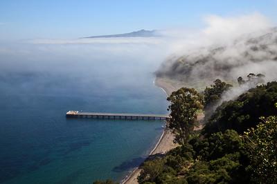 Channel Islands National Park, Santa Cruz Island - Prisoner's Harbor.