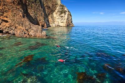 Snorkeling, Scorpion Cove