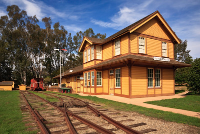 Goleta depot, South Coast Railroad Museum