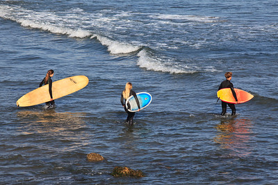 Goleta - Surfers, Coal Oil Point