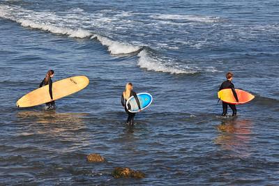 Goleta - Surfers, Coal Oil Point