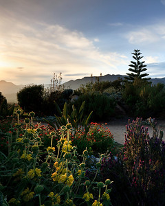 Ojai Valley - Sunset at Meditation Mount