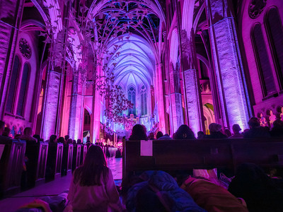 Floor Seating-Grace Cathedral