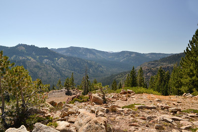 View from Sierra Crest on Picayune Trail