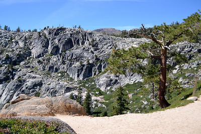 Granite Chief Wilderness - Five Lakes Trailhead at Alpine Meadows