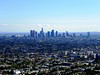 L.A. from the parapet below the dome