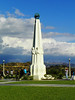 Astronomers Monument Obelisk, 1934 -<br /> The six astronomers represented on this monument are among the most influential and important in history. They are<br /> Hipparchus (about 125 B.C.), <br /> Nicolaus Copernicus (1473-1543), <br /> Galileo Galilei (1564-1642), <br /> Johannes Kepler (1571-1630), <br /> Isaac Newton (1642-1727), and <br /> John Herschel (1738-1822).