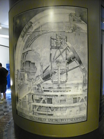 Illustration of the 200-inch Hale Telescope