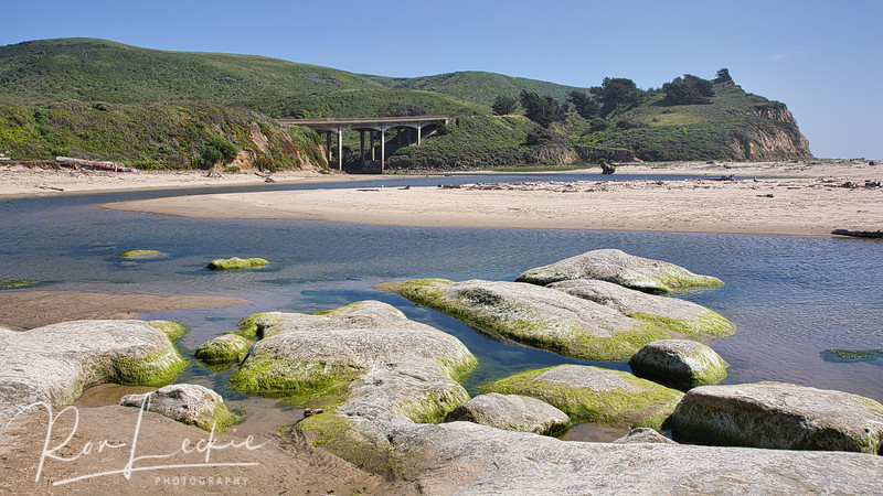 San Gregorio Beach, Highway 1, CA
