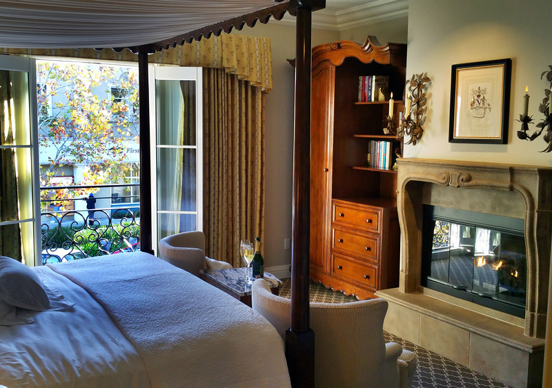 Healdsburg California, Hotel Les Mars