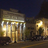 Healdsburg California, Main Street, Evening