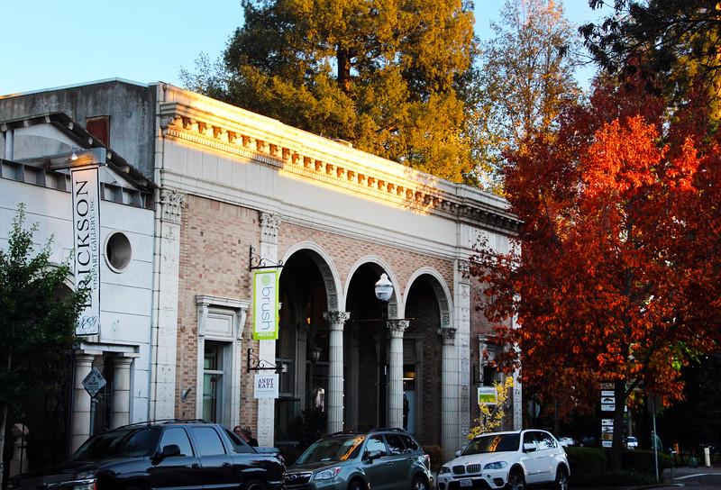 Healdsburg California Historical Building