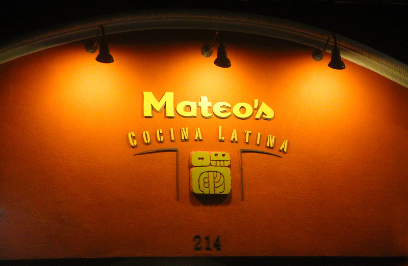 Healdsburg California, Mateo's Cocina Latina