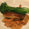 Healdsburg California, Mateo's Cocina Latina, local rock cod with black bean puree