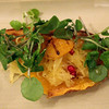Healdsburg California, Mateo's Cocina Latina, watercress appetizer