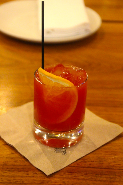 Healdsburg California, Spoonbar! Blood Orange Spritz