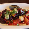 Healdsburg California, Willi's Seafood, Beet & Goat Cheese Salad