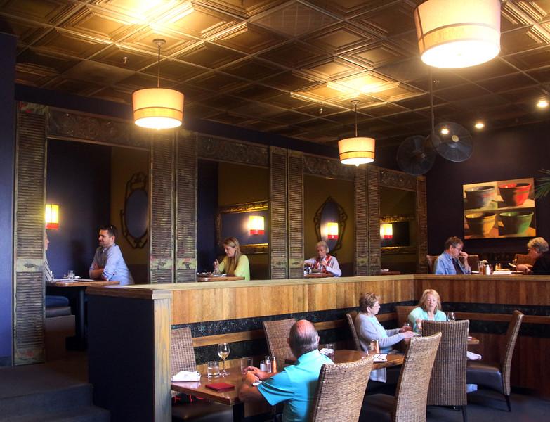 Healdsburg California, Willi's Seafood, Diners
