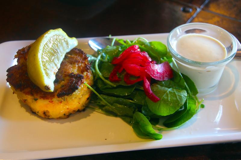 Healdsburg California, Willi's Seafood, Crab Cakes